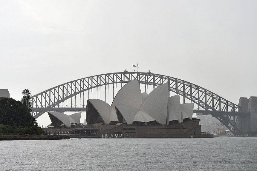 The Sydney Opera House on Jan 14, 2016.