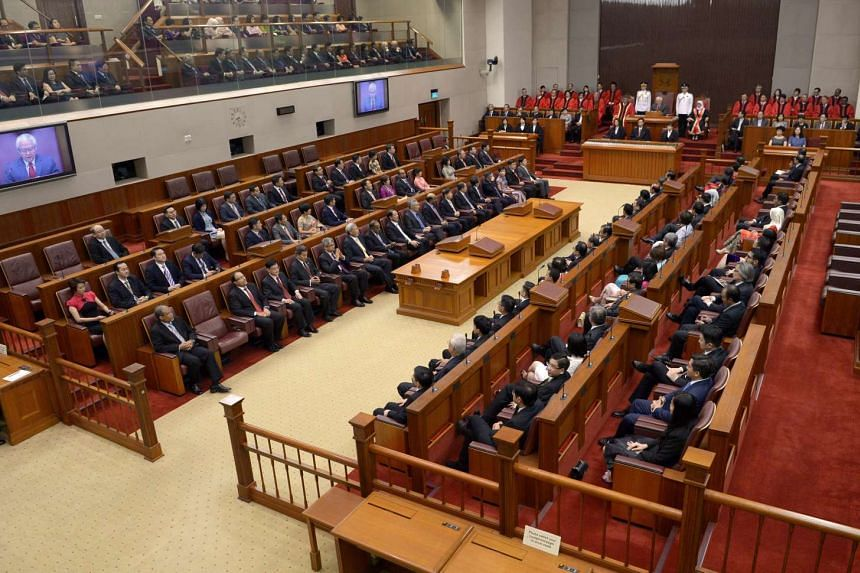 The 13th Parliament at its opening session on Jan 15, 2016.