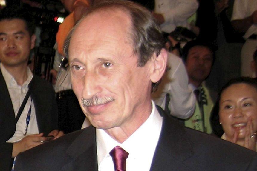Russia's former athletics chief Valentin Balakhnichev.