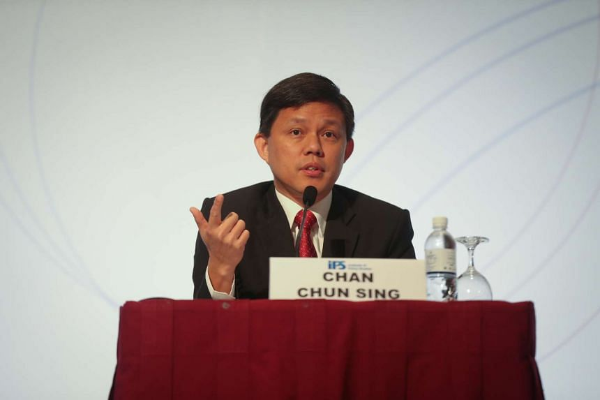 Minister in the Prime Minister's Office Chan Chun Sing speaks about collective governance at the annual Singapore Perspectives conference.