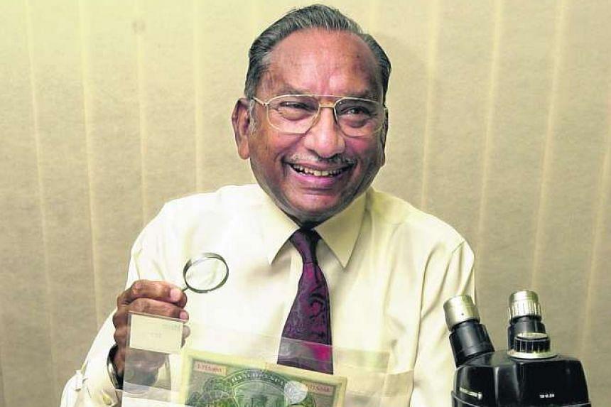 Retired Supreme Court judge T S Sinnathuray died of pneumonia on Jan 19, 2016.