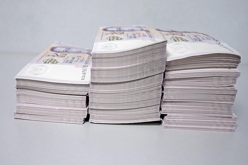 Last year, 17 per cent of all $2 notes issued by MAS during Chinese New Year consisted of good-as-new notes - up from 11 per cent in 2013. MAS said it has nearly doubled the amount of energy saved from printing fewer $2 notes since it started the goo
