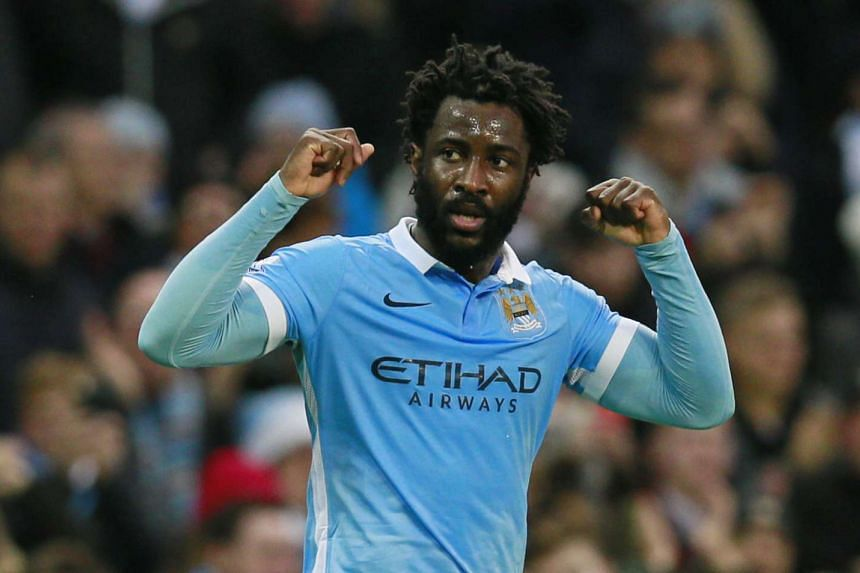 Manchester City striker Wilfried Bony says that he is happy at the Etihad Stadium.