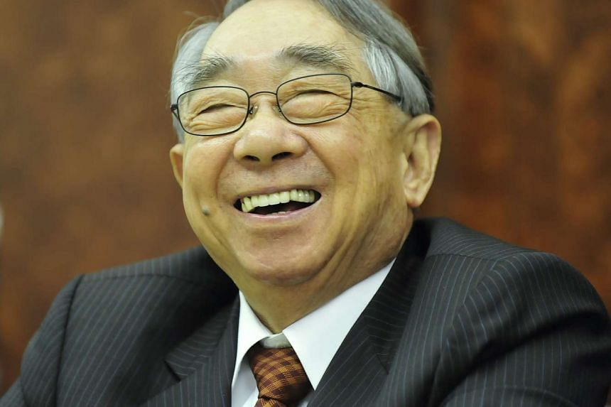 The founder of Evergreen Marine Corp, Mr Chang Yung-fa, has died.
