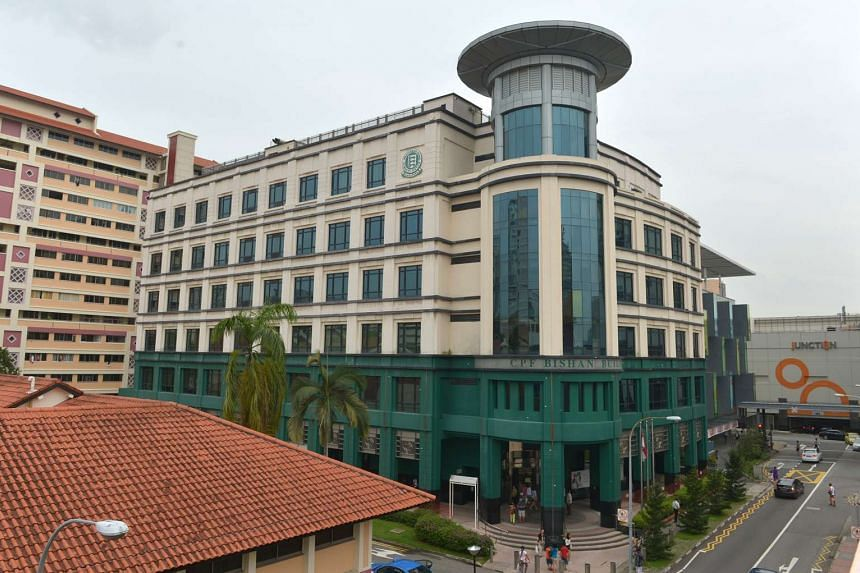 The Central Provident Fund (CPF) Bishan Service Centre.
