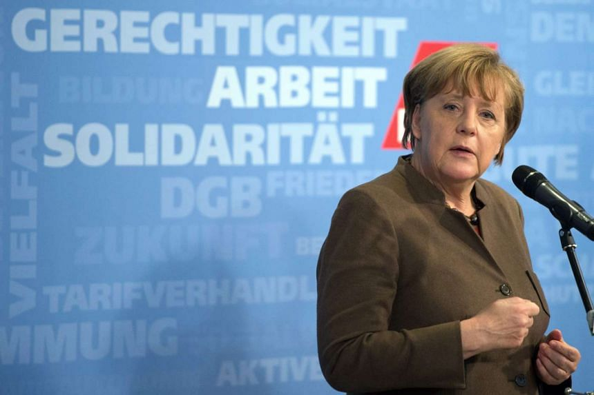 Support for German Chancellor Angela Merkel has slipped due to her handling of the refugee crisis.