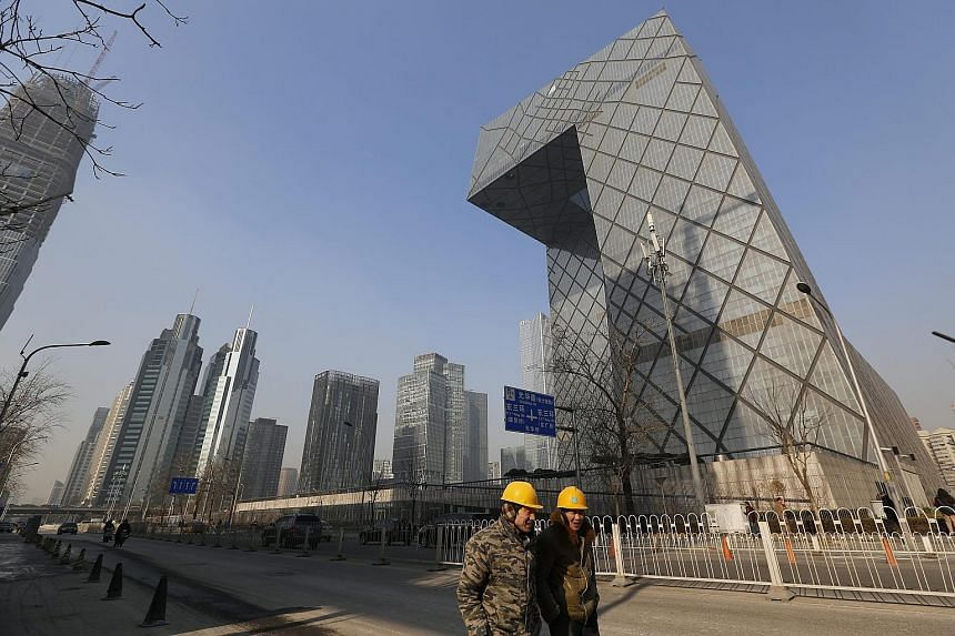 The central business district in Beijing. After being a key driver of global growth in recent years, China is now mired in a prolonged slowdown amid a property slump and a huge pile of bad debts. However, National Bureau of Statistics chief Wang Baoa