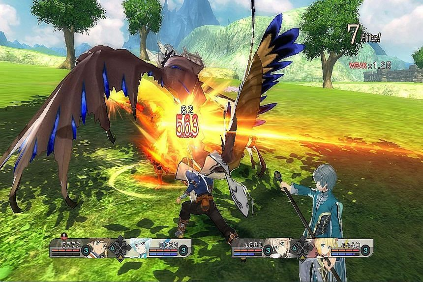 In Tales Of Zestiria, fights are rarely about power but more about managing resources and abilities, or Artes, within the core group of characters.
