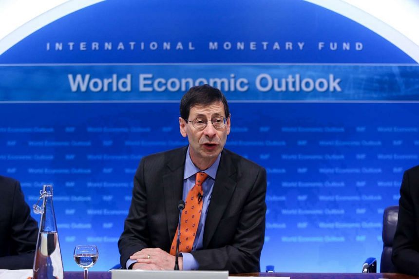 Maurice Obstfeld, chief economist at the International Monetary Fund (IMF), speaks during a news conference at the Bank of England (BOE) in UK, on Jan 19, 2016.