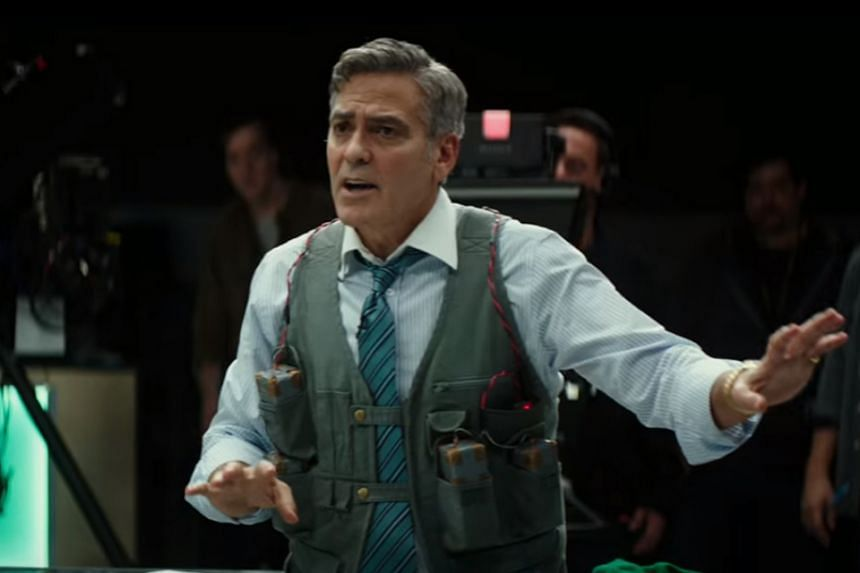George Clooney stars as flamboyant money expert Lee Gates.