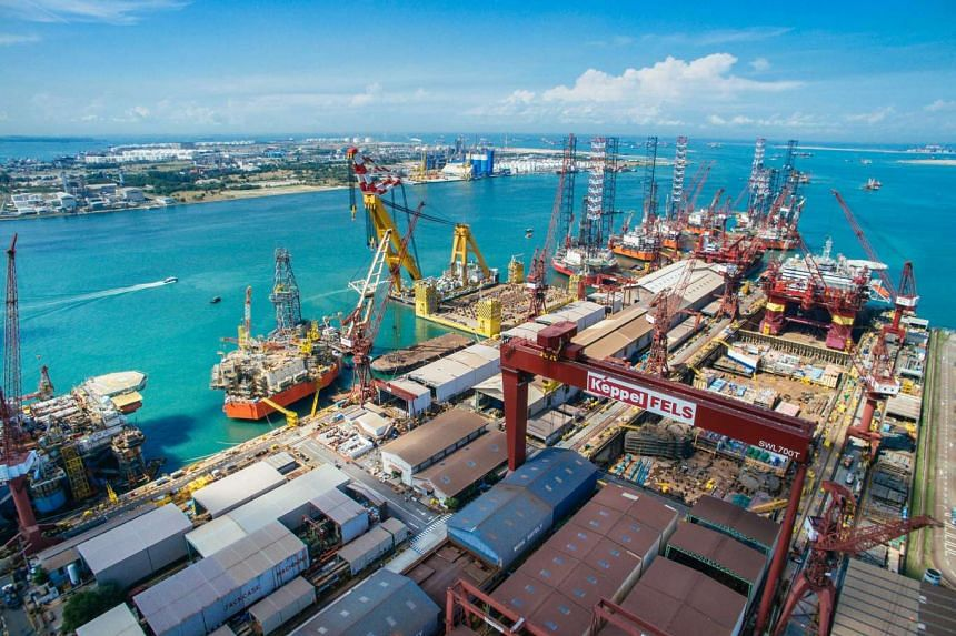 Keppel Corp earnings took another huge hit in the fourth quarter.