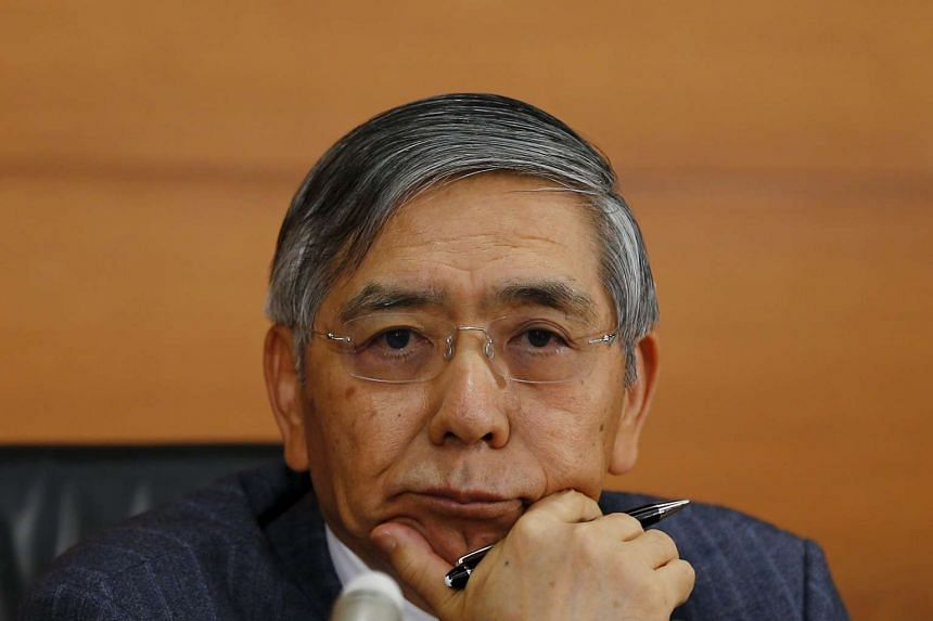 Bank of Japan (BOJ) governor Haruhiko Kuroda at the BOJ headquarters in Tokyo, on Oct 30, 2015.
