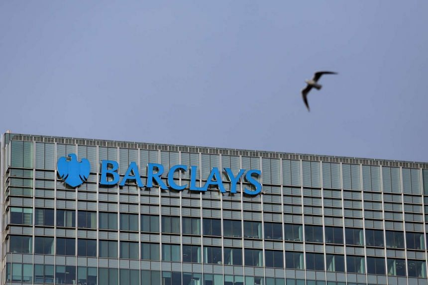 Barclays offices stand in the Canary Wharf business, financial and shopping district of London, on Jan 13, 2016.