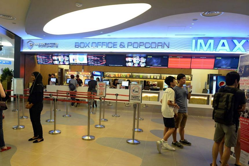 Shaw's newest cinema at Punggol Waterway Point.