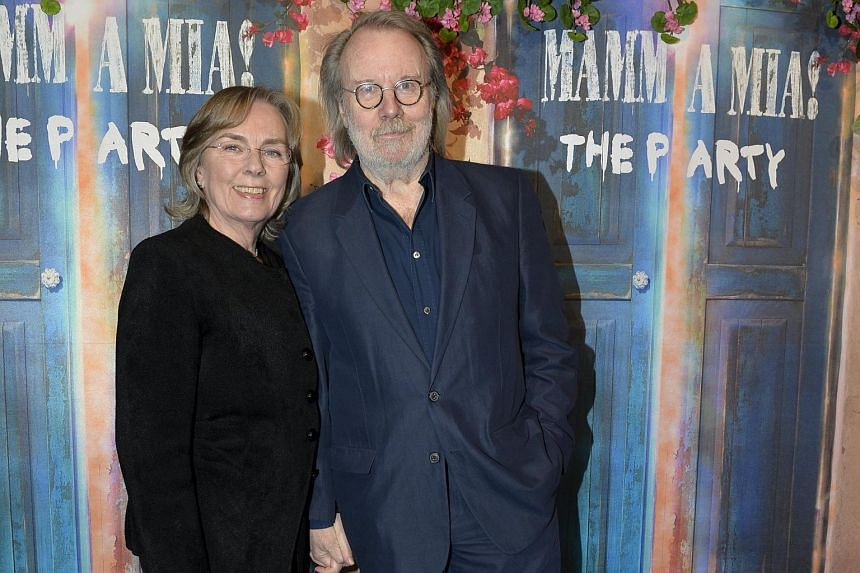 Abba's Benny Andersson with wife Mona Norklit.
