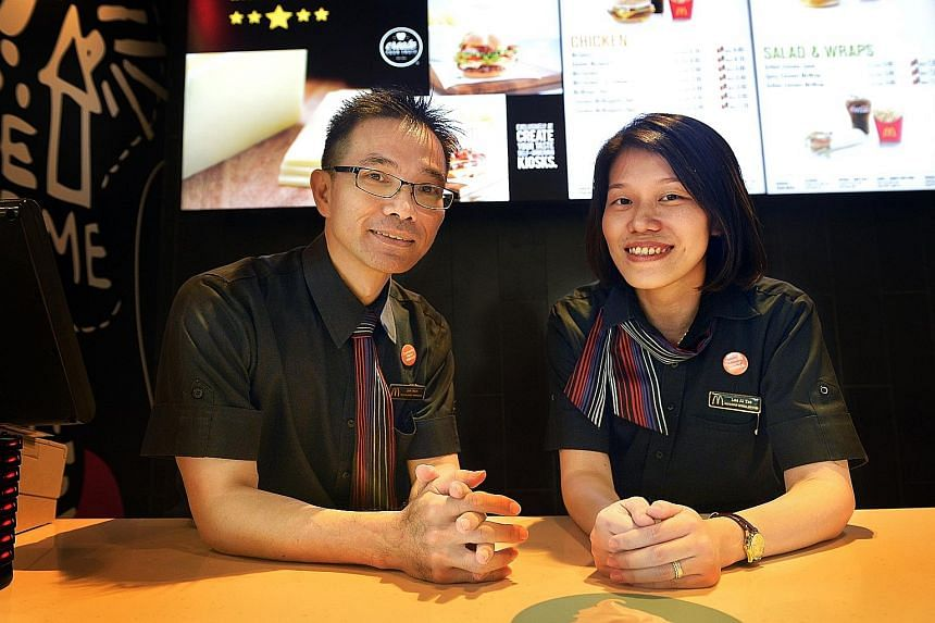 With training and awareness of dementia, people like McDonald's restaurant general managers Jim Neo, 43, and Lee Ai Tze, 34, will be able to understand and support sufferers and caregivers.