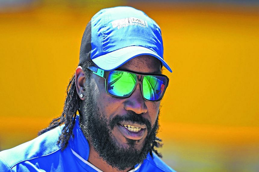 Chris Gayle was blasted for flirting with a female TV presenter but he slammed his critics for being hypocritical.