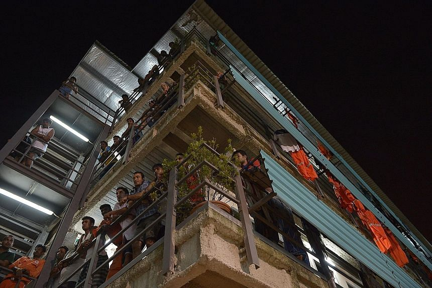 Dormitory operators agree that if the foreign workers staying in their quarters are well integrated, it could prevent them from getting radicalised.