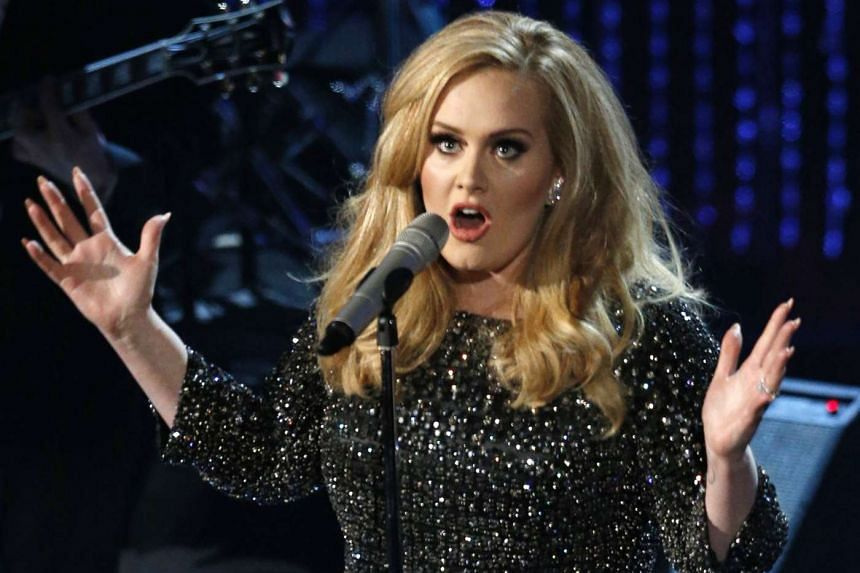 """Adele has not been nominated this year, as her comeback album """"25"""" was released outside the eligibility period."""