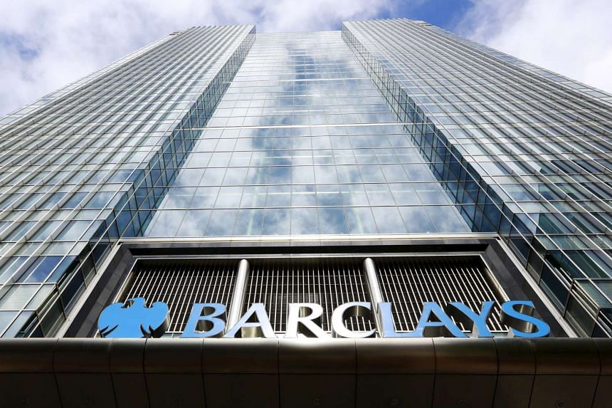 Barclays' headquarters in Canary Wharf, east London.