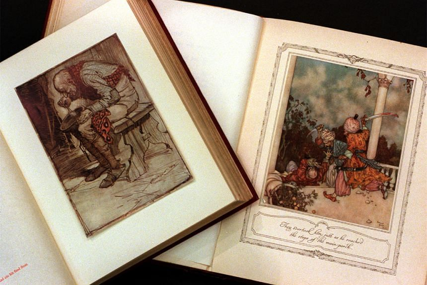 Research suggests that folk tales existed in oral tradition long before they were put down in writing.