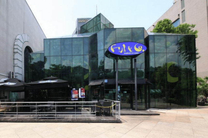 The Glass House branch of Fish & Co.