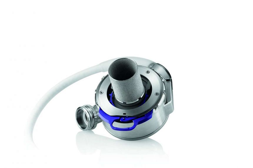 The HeartMate 3 artificial heart pump is implanted directly onto a patient's heart to help it pump oxgen-rich blood to the rest of the body.
