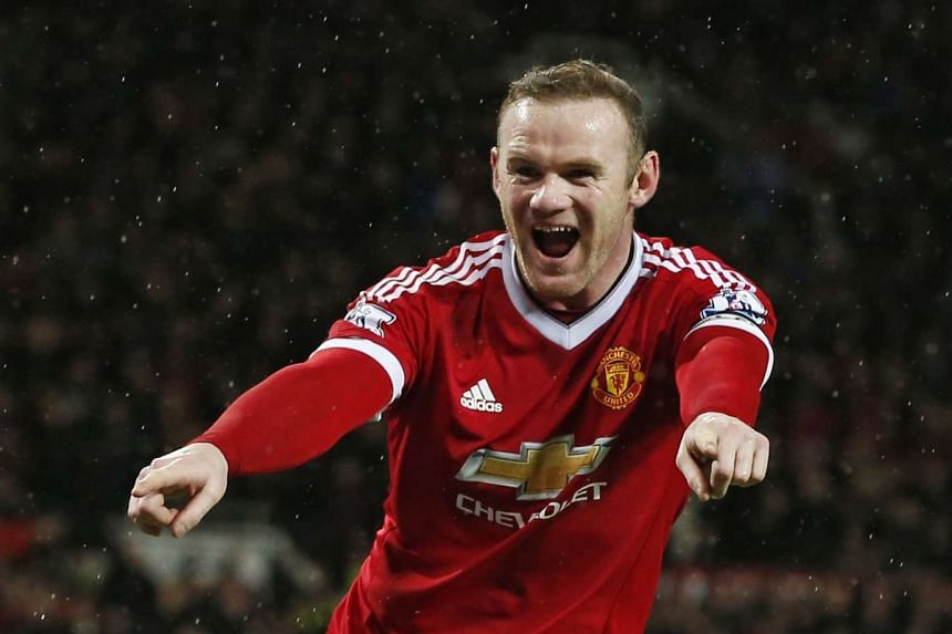 Manchester United's Wayne Rooney.