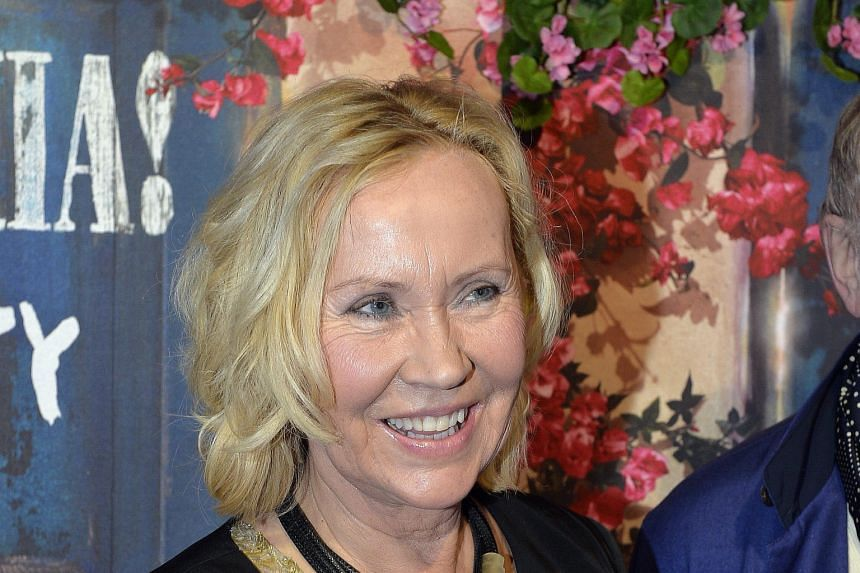 Singer Agnetha Faltskog (left) was at the opening of Mamma Mia! The Party, owned by fellow Abba member Bjorn Ulvaeus.