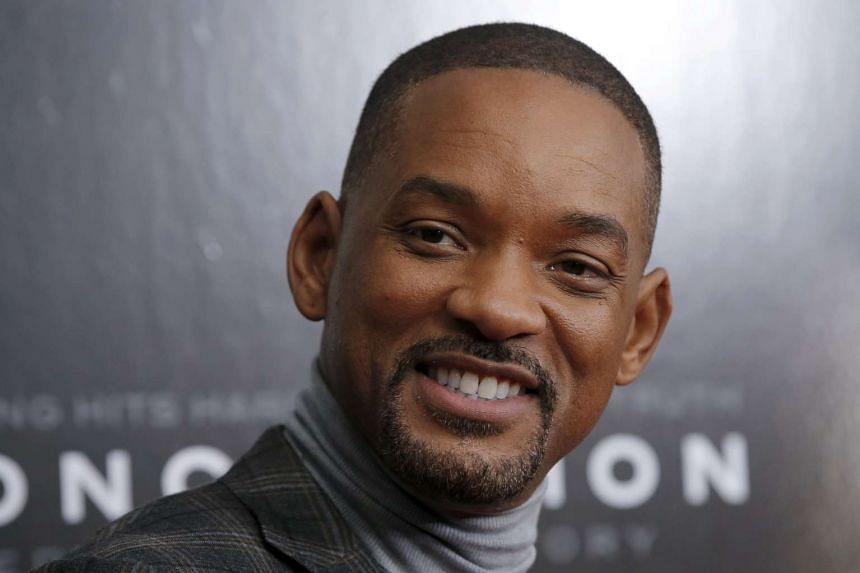 Will Smith arrives for the New York premiere of Concussion.