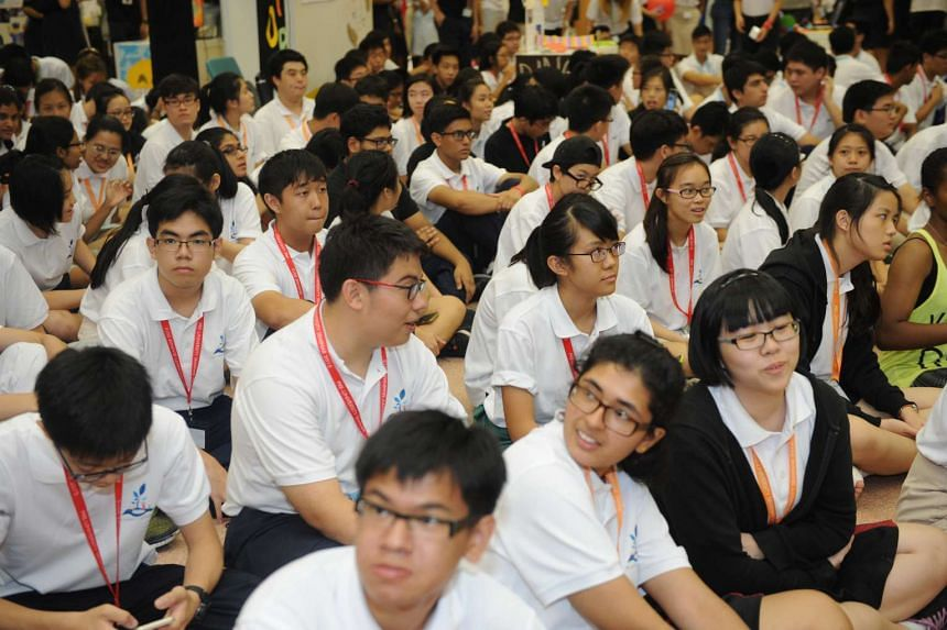 A pre-university seminar held at the National University of Singapore on June 5, 2015.