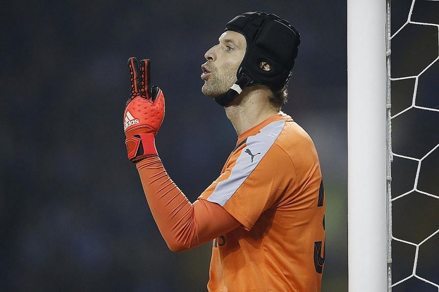 Arsenal's Czech goalkeeper Petr Cech, the only league champion in the Gunners' side, welcomes his former team, Chelsea, to the Emirates Stadium. The hosts should have more creativity tomorrow, with Alexis Sanchez set to be on the bench and Mesut Oezi