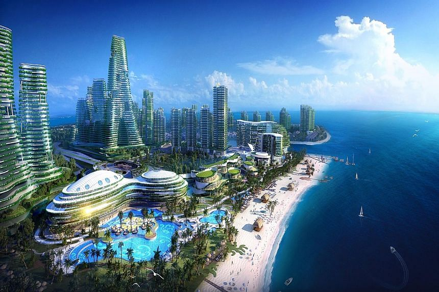 Forest City is a mixed-use development spanning about 1,386ha on four man-made islands, with an estimated investment of $58.3 billion over the next 20 years.