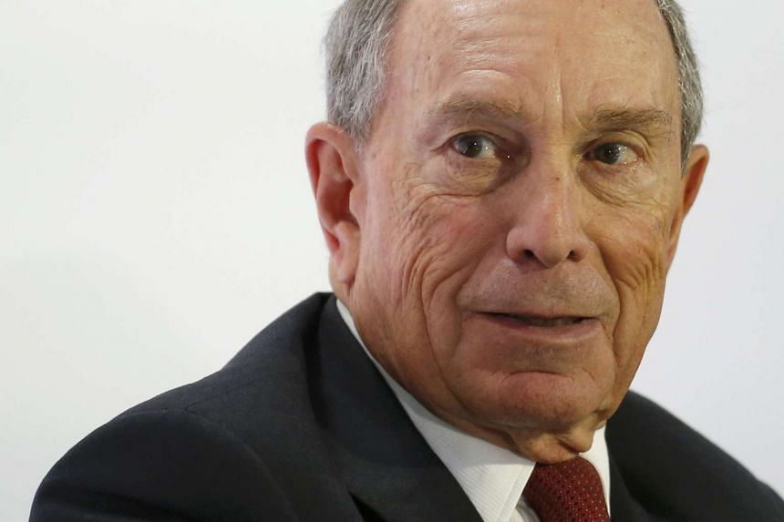 Bloomberg has said he would spend at least US$1 billion (S$1.4 billion) of his own money on a campaign.
