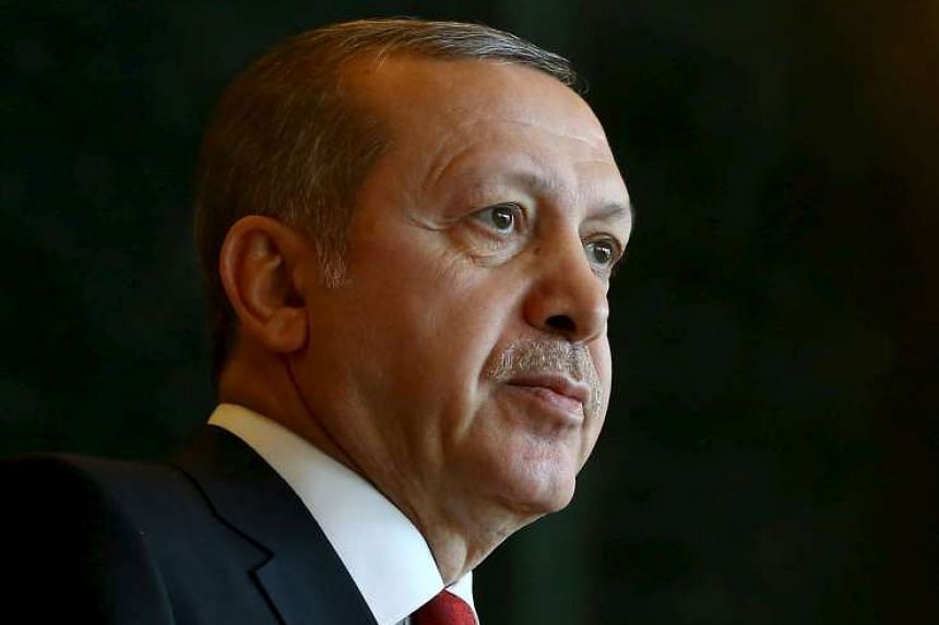 Turkey's President Erdogan expressed alarm over the build-up.