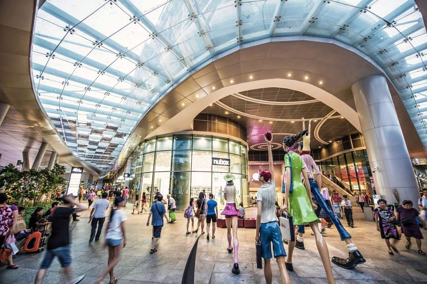 CapitaLand Mall Trust's shopper traffic grew 4.9 per cent last year and its tenants' sale per square foot per month increased 5.3 per cent, compared with a year earlier. It completed the acquisition of Bedok Mall (above) on Oct 1 last year.