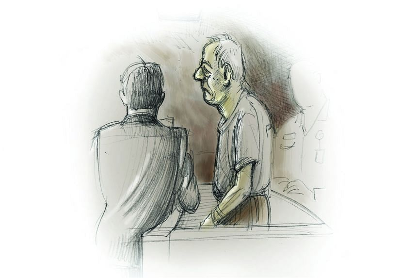 Phey Yew Kok in court yesterday. His lawyers said he regrets absconding and is ''ashamed and sorry'' for what he did.
