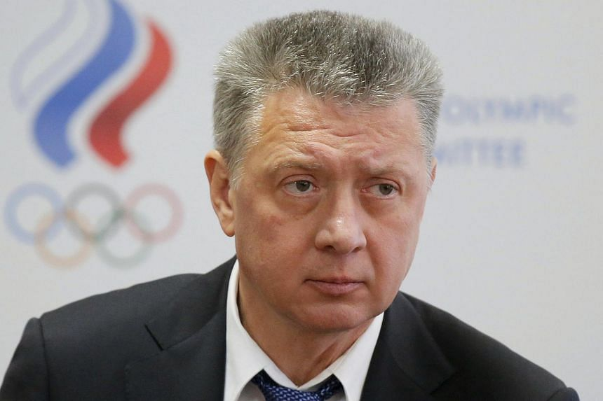 Russia's Athletics Federation (ARAF) president Dmitry Shlyakhtin attends a news conference in Moscow, Russia, on Jan 16, 2016.