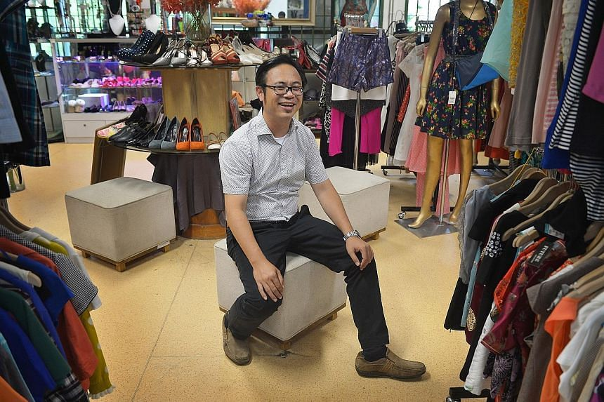 Mr Tan from The Salvation Army's Red Shield Industries says the charity hopes to sell items directly from its own website in future.