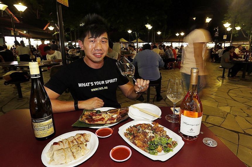 Co-founder of 75cl Cedric Mui wants to make wine drinking accessible.