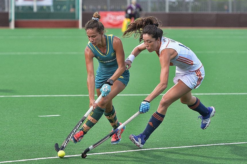 The Project Group International Tri-Series women's hockey tournament ended yesterday, with world No. 1 and Olympic champions Netherlands defeating No. 3 Australia for the second time this week, as they won 4-1 at Sengkang Hockey Stadium. Dutch captai
