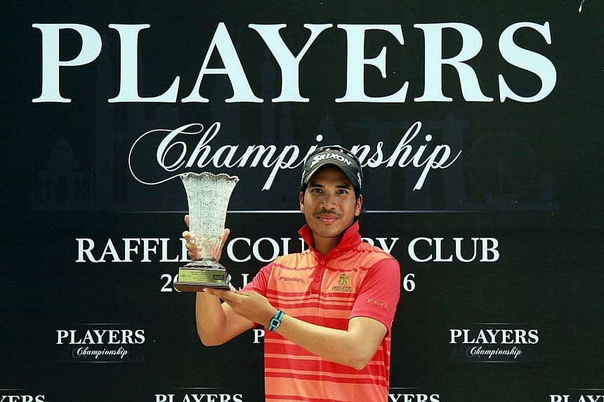 Itthipat wins his second Asian Development Tour career title at Raffles Country Club.