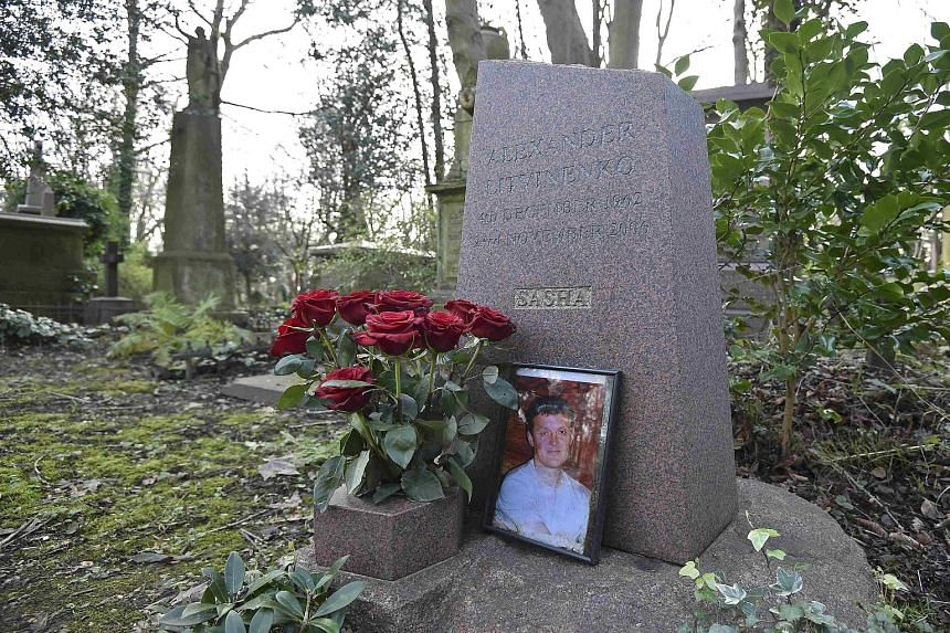 Former Russian spy Alexander Litvinenko, whose grave is in London's Highgate Cemetery, helped solve his own murder. As he lay dying in a hospital bed in London in November 2006, he told investigators what to look for.