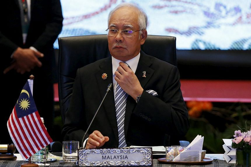 Malaysia's Prime Minister Najib Razak attends the plenary session of leaders at the 27th Asean summit in Kuala Lumpur, Malaysia on Nov 21, 2015.