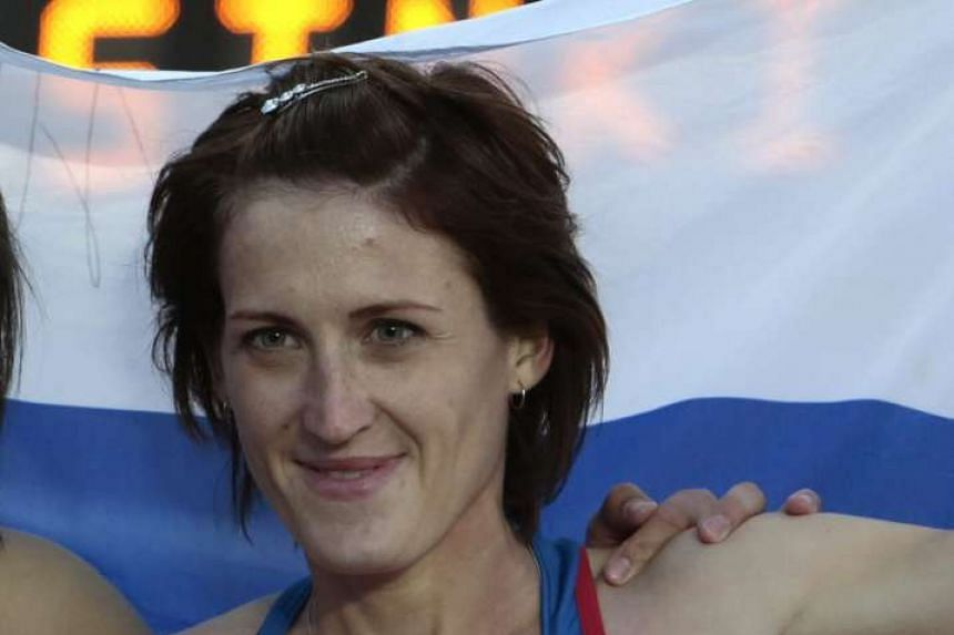 Russian authorities handed out bans to four athletes, European silver medallist Irina Maracheva (pictured).