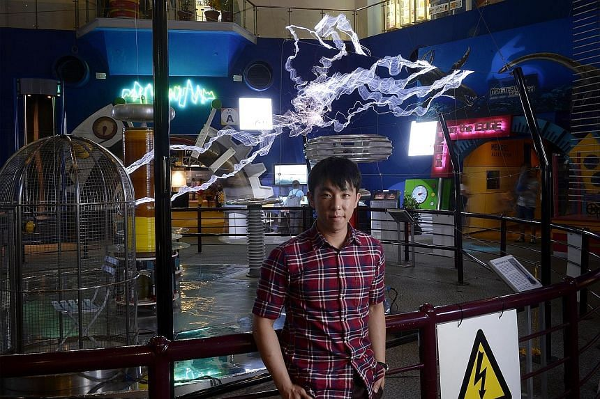 Mr Gao's Tesla coil will be showcased as a permanent exhibit at the Science Centre from June.
