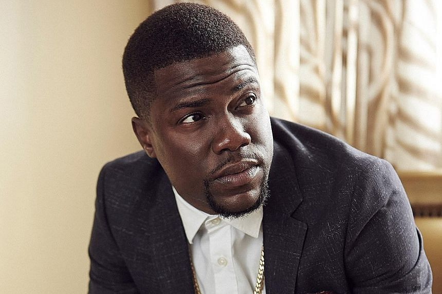 Fitness is a big part of Kevin Hart's life and he is collaborating with Nike on a programme to get people exercising.
