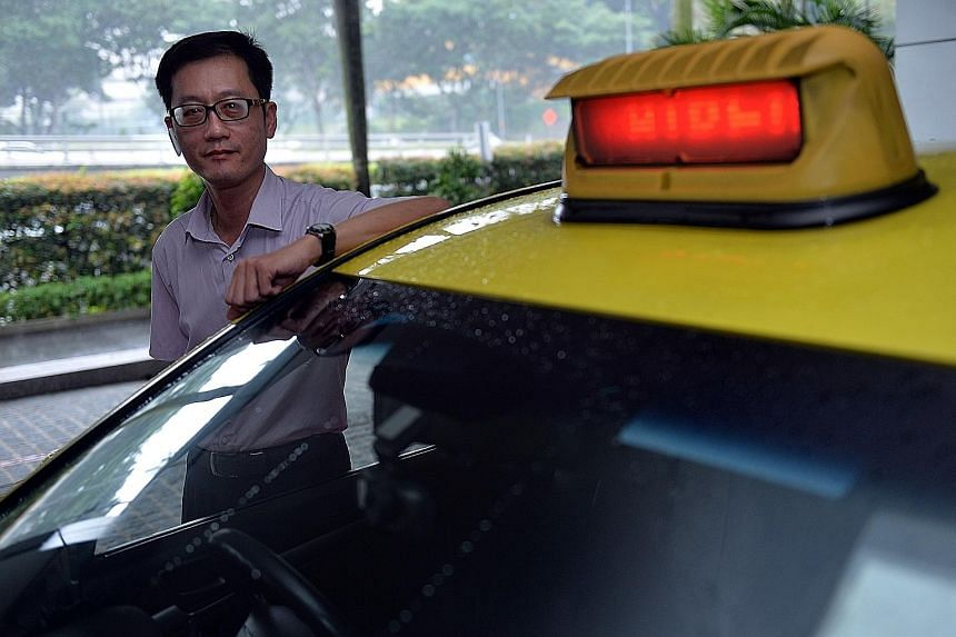 Mr Ng saves between $120 and $150 a month because of falling oil prices, but a slower economy has hurt monthly takings asfewer people take taxis.