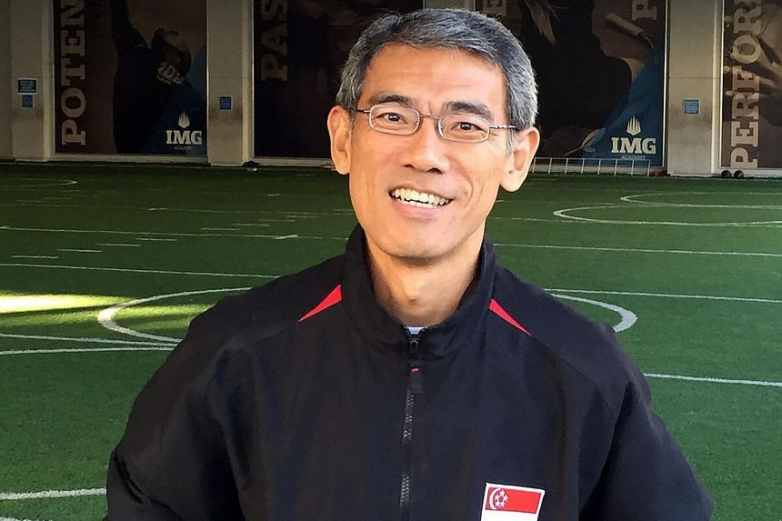 Local distance running coach Steven Quek (above) will be meeting Neo Jie Shi this week to devise a training plan. Neo qualified for the Rio Olympics in December after coming in 10th in the Women's Open category at the Standard Chartered Marathon Sing