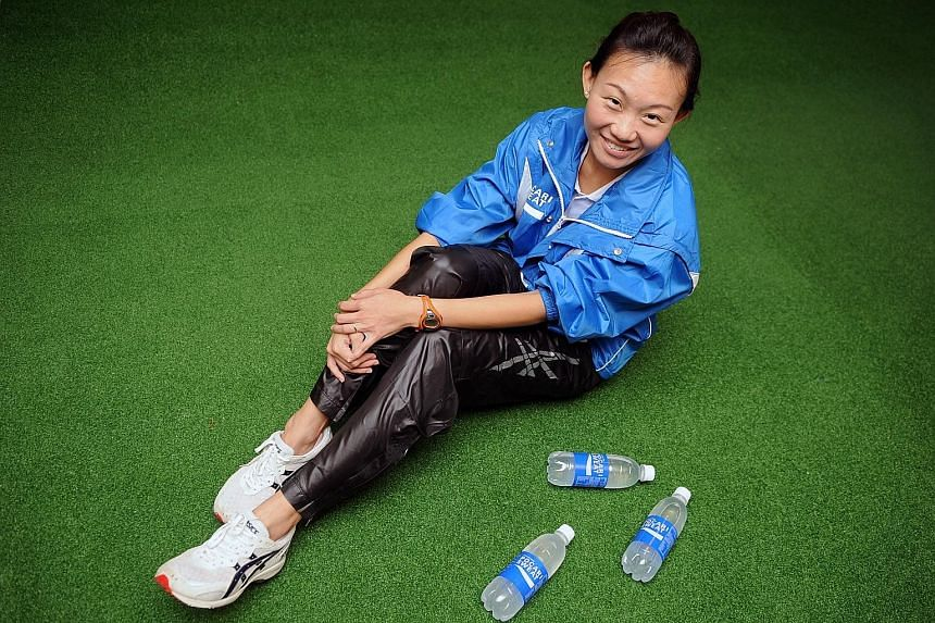 Local distance running coach Steven Quek will be meeting Neo Jie Shi (above) this week to devise a training plan. Neo qualified for the Rio Olympics in December after coming in 10th in the Women's Open category at the Standard Chartered Marathon Sing